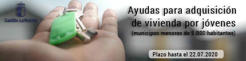 Ayudas para la adquisición de vivienda habitual por jóvenes en municipios menores de 5000 habitantes
