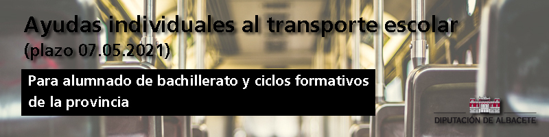 Ayudas Individuales Transporte Escolar