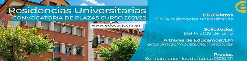Residencias Universitarias en CLM